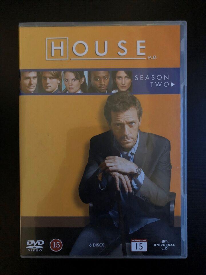 House, M.D. sæson 1 og 2, DVD