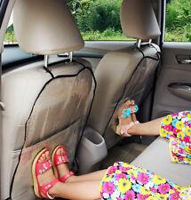 2 x Asiento de Coche Protector De Espalda Cubierta asiento trasero para niños bebés proteger de barro