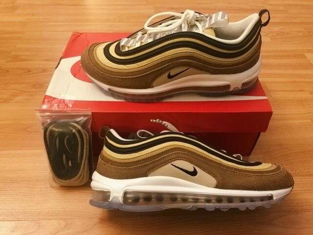 Nike Air Max 97 Casual Sneaker Shoes For Men Size 11 Ale Brown