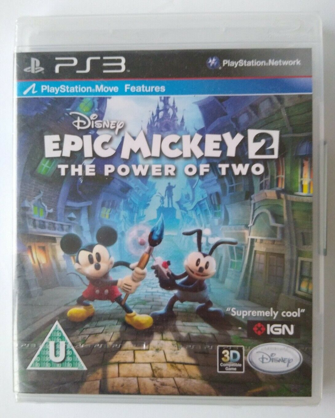 Disney Epic Mickey 2: The Power Of Two - PS3 - PLEASE READ DESCRIPTION