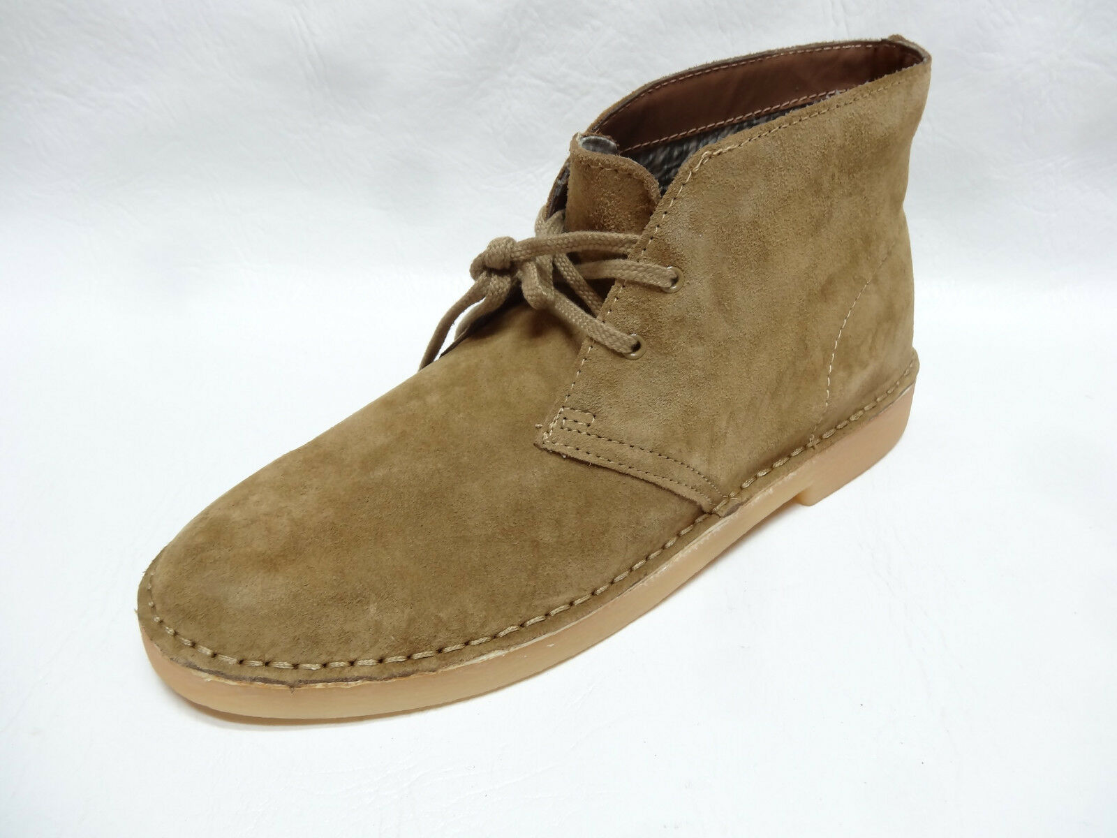 SONOMA life+style mens MONTE Sand Suede casual chukka boots shoes 11 NEW