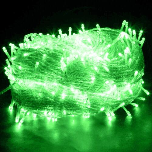 100-2000 LED Weihnachtslichterkette Schlauch Innen Außen Garten Beleuchtung Deko