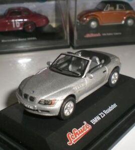 SCHUCO-MINIATURA-SPORT-BMW-Z3-ROADSTER-CABRIO-GERMAY-CAR-MODELISMO-SCALE-1-72