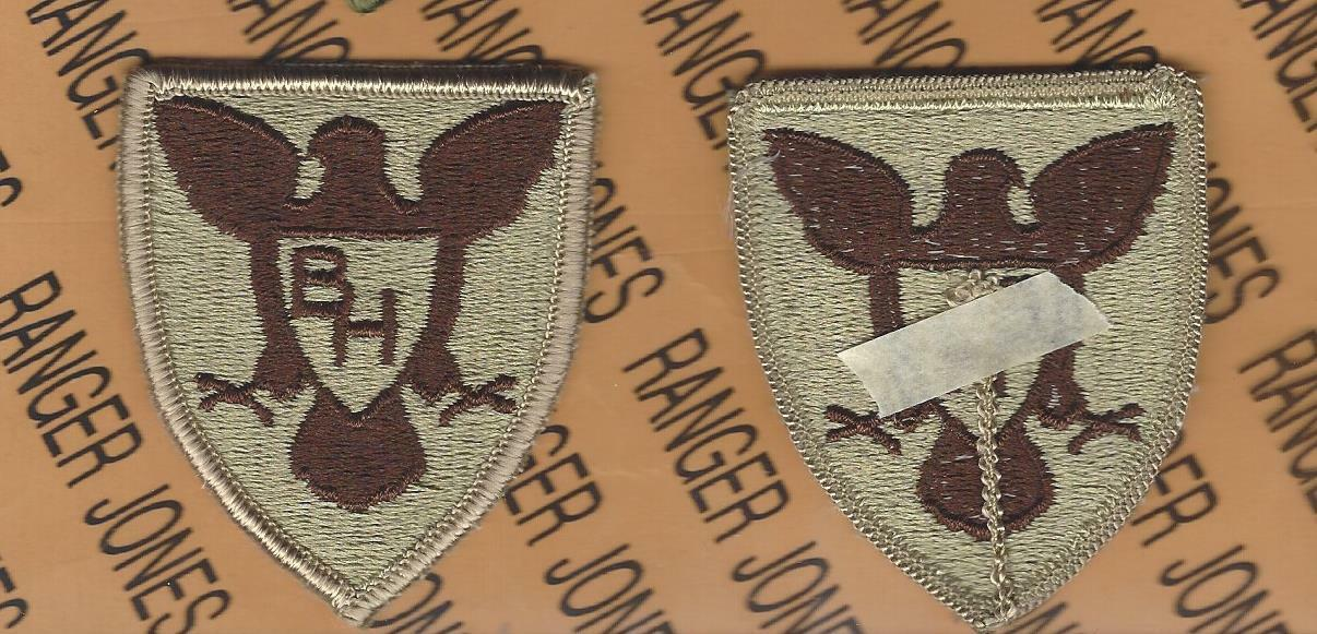 US Army 77th Infantry Division DCU Desert Tan Patch