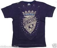 Akademiks T Shirt Jeanius Akdmks Purple Akademiks 100% Cotton Akademiks