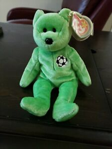 Beanie-Babies-034-Kicks-034-with-All-Errors-Mint-Condition-RARE