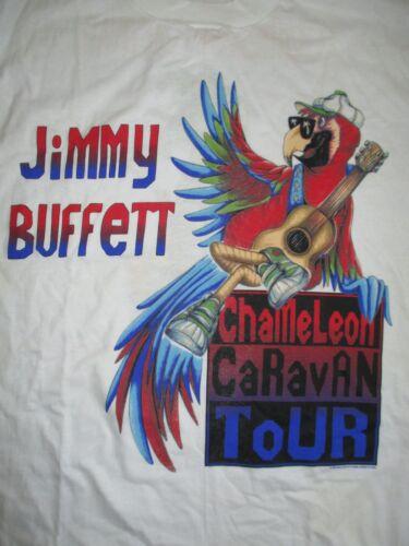 1993 JIMMY BUFFETT Chameleon Caravan Concert Tour (XL) T-Shirt