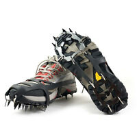 Anti Slip Shoe Boot Grips Snow Gripper Ice Cleats Spikes Non Slip Crampons Sd