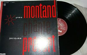 Yves-Montand-chante-Jacques-Prevert-LP-33-rpm-original-Philips-1962-France