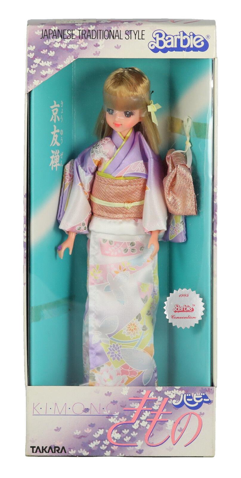 1985 estilo tradicional Takara Japonés Kimono Barbie nunca quitado de la caja