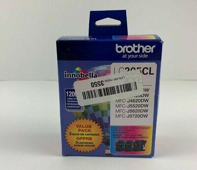 LC2053PKS XXL Super High-Yield 3-Pack Ink Cartridges Brother Cyan//Magenta...