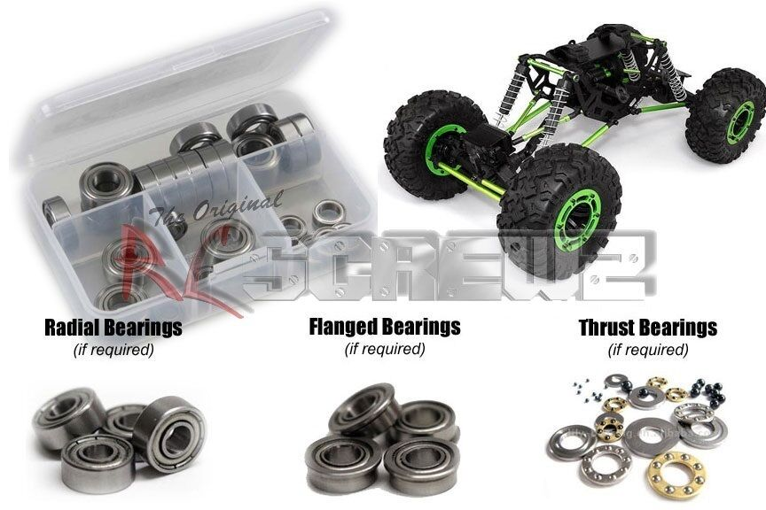 Axial Racing AX10 Scorpion Metal Shielded Bearing  Kit axi001b RC ScrewZ
