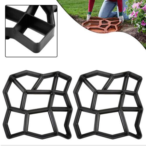 Pflasterform DIY 2x 3x 5x Schalungsform Betonpflaster Betonform Garten Gießform#