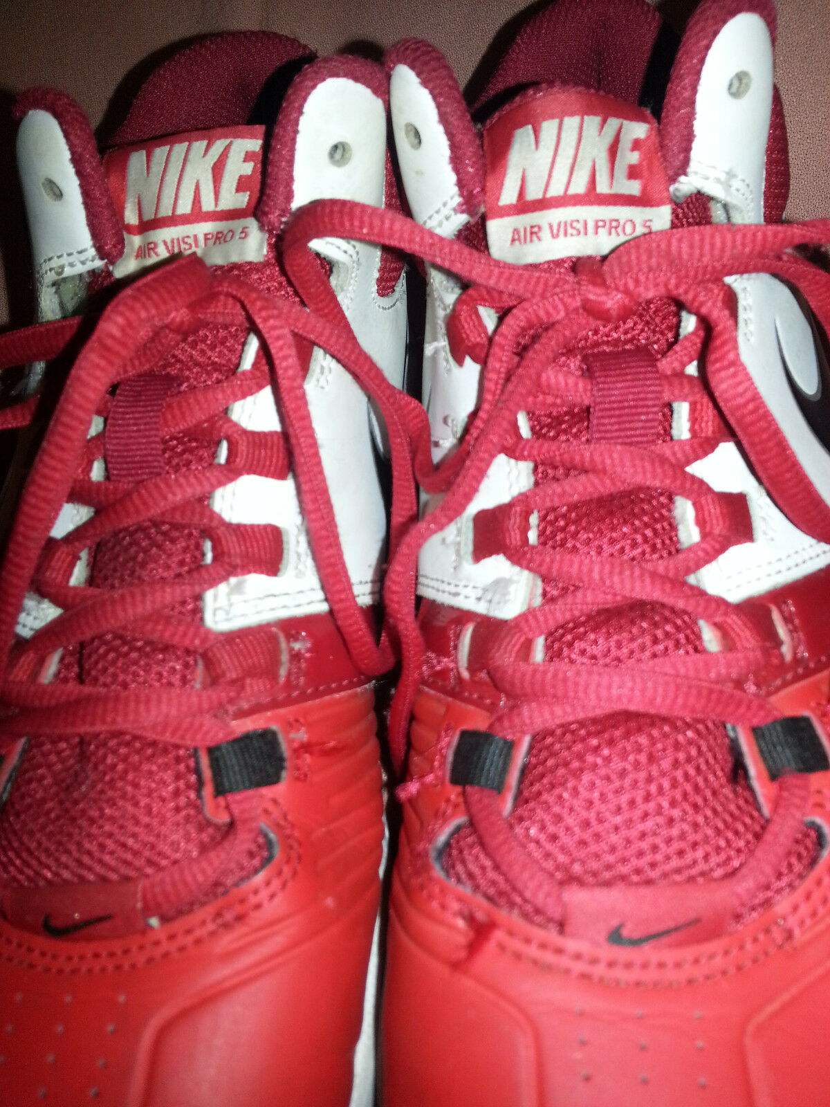Nike Air Visi PRO 5  RED mans shoes size 7.5