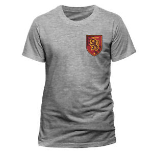 Harry Potter T Shirt Gryffindor House Crest Ufficiale Uomo nuovo Rosso