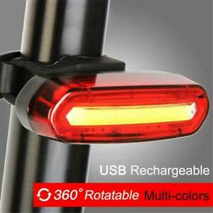 120-Lumens-LED-Bike-Tail-Light-USB-Rechargeable-Powerful-Bicycle-Rear-Light-Hot