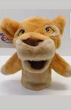 "The Lion King Disney Store Hand Puppet Kiara 10"" Plush New w Tags"