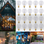 thumbnail 16 - 9/25Pcs G40 Globe Replacement Bulbs For Indoor Outdoor Festoon String Lights