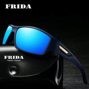 aa103b7653 Men Polarized Sunglasses Driving Sun Glasses Men HD Polaroid Lens ...