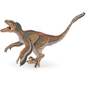 Papo Dinosaures à Plumes Velociraptor Figure 55055 New-afficher Le Titre D'origine Dduqsutk-07164853-864968751