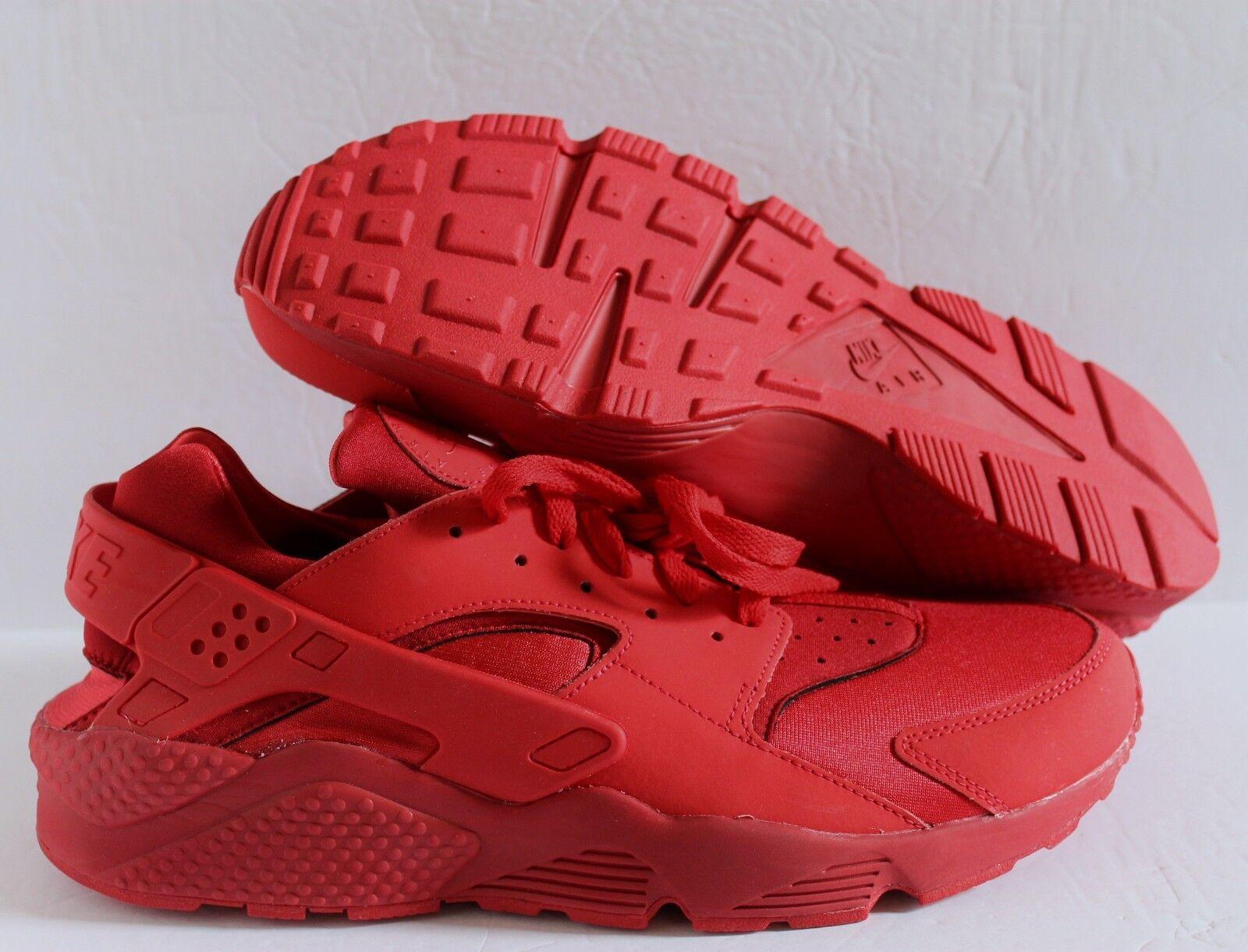 Nike femmes Air Huarache Premium ID rouge rouge sz 7.5