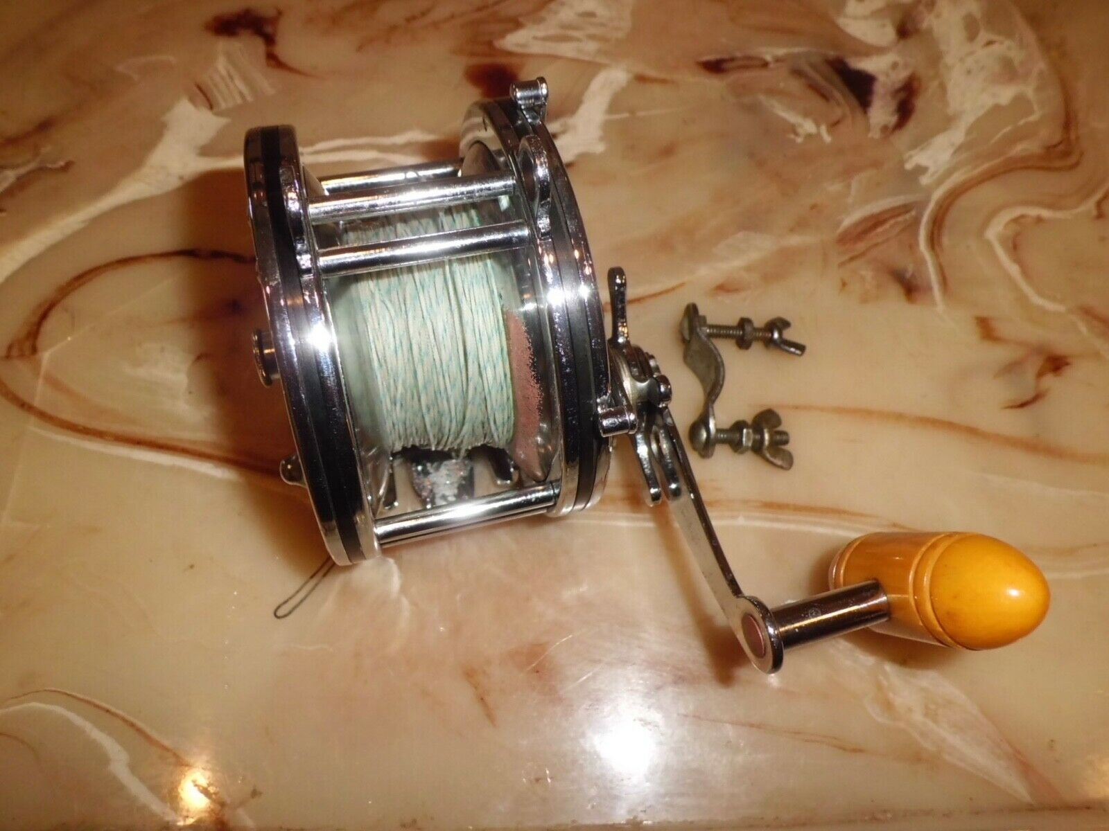 Vintage PENN Grand Mariner 349 Conventional Reel made in USA
