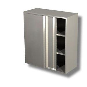 La-unidad-de-pared-160x40x100-430-acero-inoxidable-armadiato-cocina-restaurante