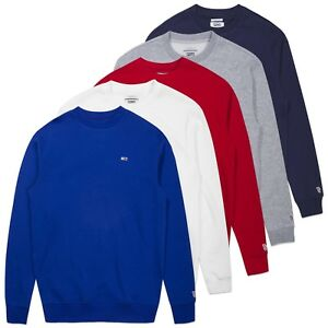 Tommy Hilfiger Pull - Tommy Jeans Classique Drapeau Pull - Marine ... 2e17f393c37