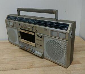 Vintage Realistic Radio Shack SCR-16 Boombox Stereo *BROKEN KNOB*