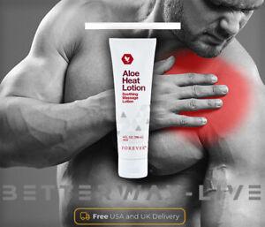 NUOVO Aloe FOREVER LIVING Heat Lotion crema corpo massaggio rilassante RUB 118ml