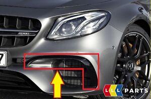 Nuevo-Genuino-Mercedes-Benz-MB-E-W213-E63-S-AMG-Solapa-Inferior-Parachoques-Delantero-Izquierda-N-S