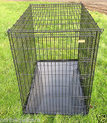 Xxl 54 Quot Great Dane Large Breed Dog Cage Black Ck54 Ebay