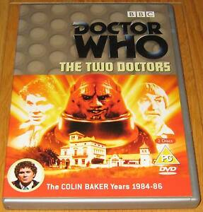 Doctor-Who-DVD-The-Two-Doctors-Excellent-Condition