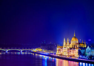 BUDAPEST-NEW-A2-CANVAS-GICLEE-ART-PRINT-POSTER
