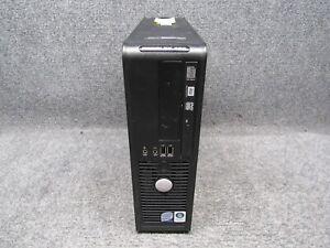 Dell Optiplex 760 SFF PC w/ Intel Core 2 Duo E8400 3.00GHz 4GB RAM 250GB HDD