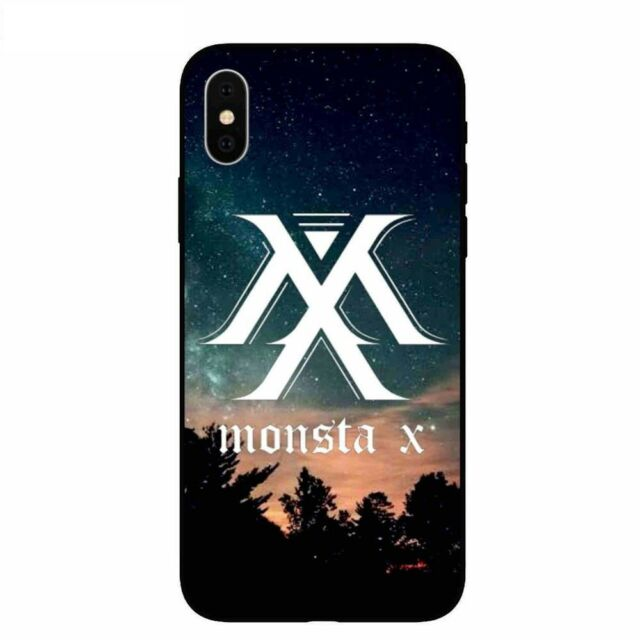 Monsta X KPOP Boy Group Fashion soft case cover for Iphone 5 6 7 8 ...