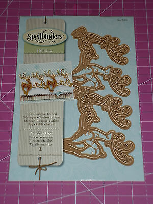 DIE/'SIRE CHRISTMAS EVE CREATE A CARD REINDEER CUTTING DIE NEW UNIVERSAL FIT