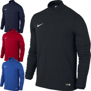 sports shoes 5018c 7aae8 Image is loading Nike-Mens-Academy-1-4-Zip-Midlayer-DRI-