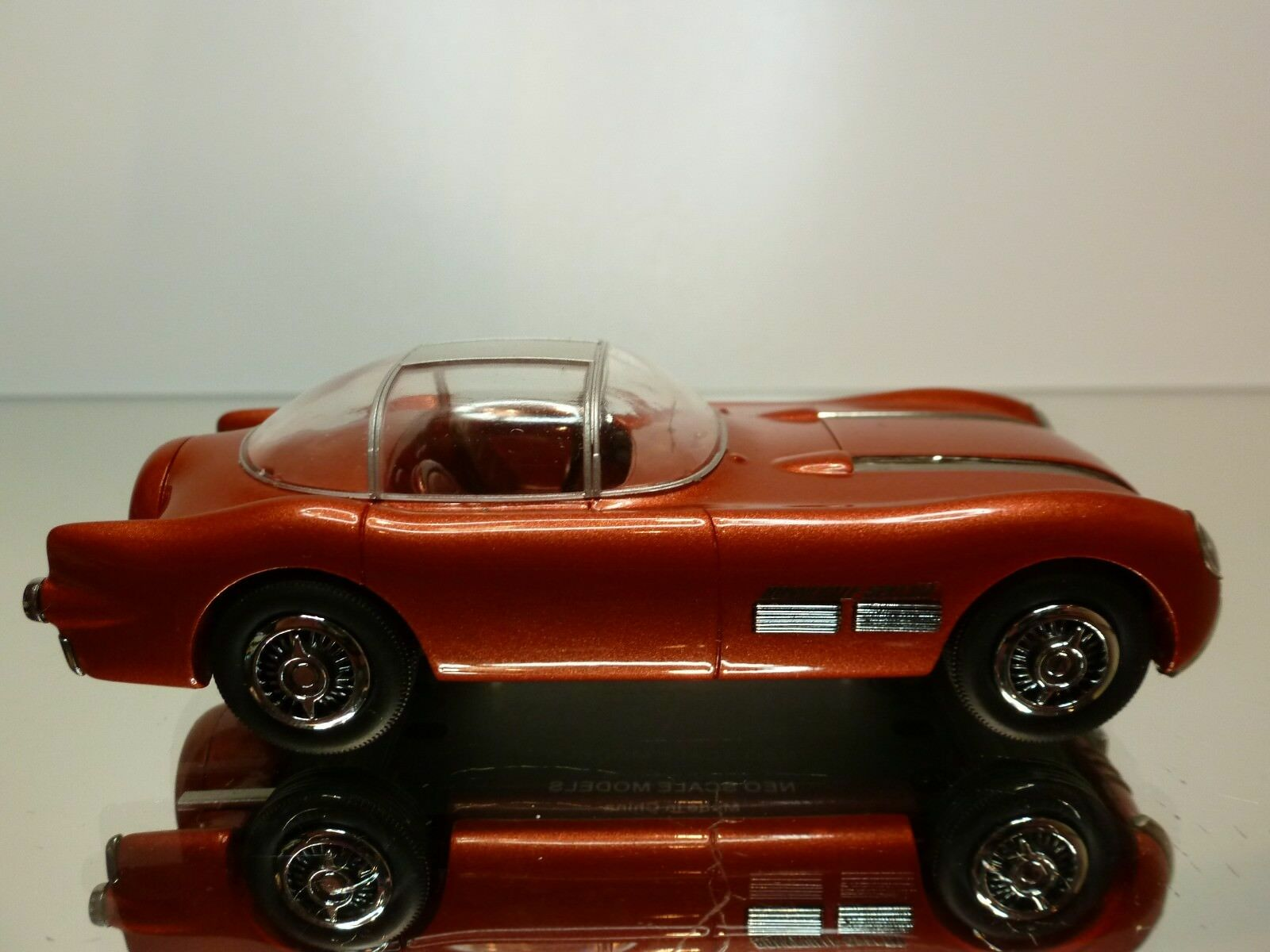 NEO NEO NEO SCALE MODELS PONTIAC BONNEVILLE SPECIAL - 1 43 - EXCELLENT CONDITION - 45 9245bb