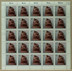 Berlin 25er Bogen MiNr. 823 postfrisch MNH Formnummer 1 (BW5713