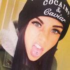 Unisex Cocaine&caviar CUFFED BEANIE SKULL CAP HAT HIP HOP CAP Hot Sale Nice