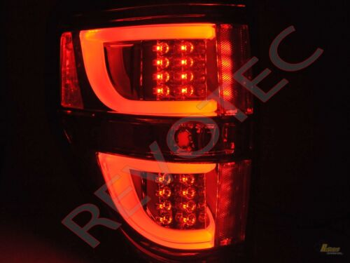 2009-2014 Ford F150 F-150 Pickup G2 Red LED Tube Tail Lights Lamps RH /& LH