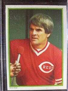 Pete Rose Baseball Card #51 Topps All Star Cincinnati Reds MLB HOF Free Ship