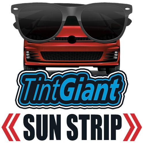 TINTGIANT PRECUT SUN STRIP WINDOW TINT FOR TOYOTA TACOMA CREW 01-04