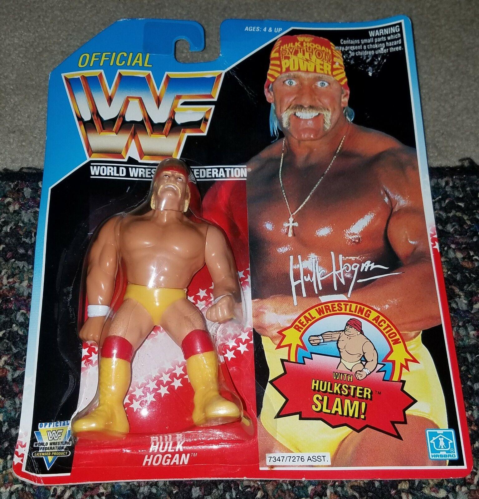 1992 WWF WWE Hasbro HULK HOGAN HULKSTER SLAM SERIE 5 WRESTLING cifra