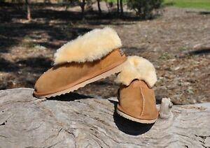 Ugg-Slippers-boots-Ladies-Australian-Hand-Crafted-Merino-Sheepskin