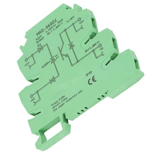 MRD-060D2 Solid State Relay Module 2A DC24V Normally Open Ultrathin Port Relay