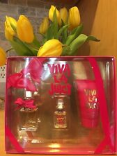 New Juicy Couture Viva La Juicy Fragrance 3 Piece Gift Set for Women-BNIB
