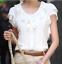 Summer-Womens-Chiffon-Undershirts-T-Shirt-Sleeveless-Tunic-Tops-Blouse-Shirt thumbnail 2