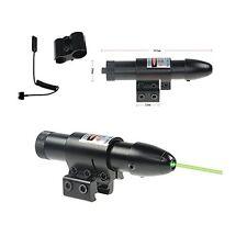 Tactical Green Laser sight Gun scope Remote Pressure Switch Mount & Tail
